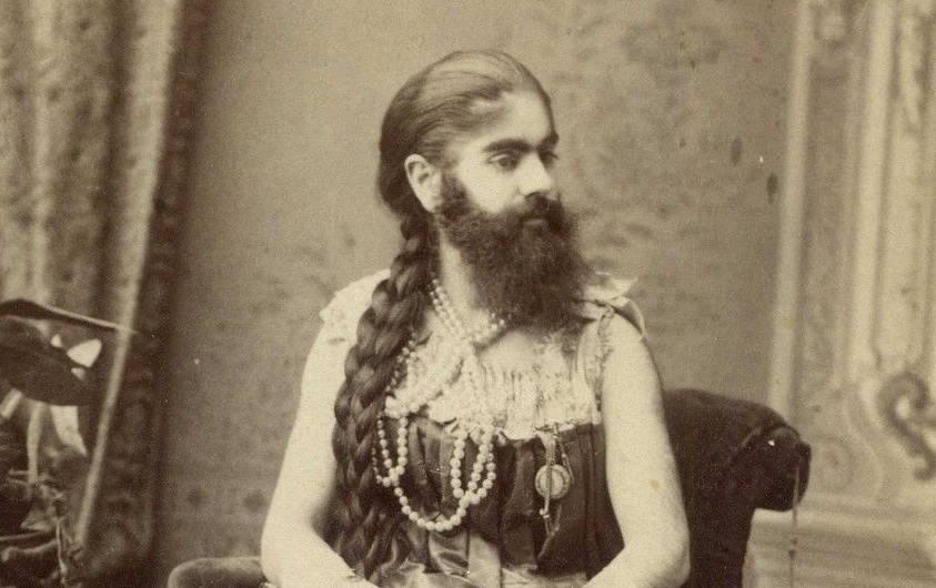 La triste histoire d'Annie Jones, la femme à barbe de PT Barnum