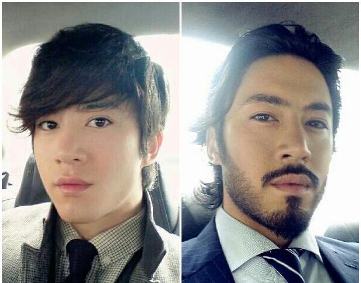 La barbe les a complètement changé !