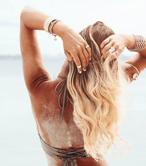 Été - pourquoi nos cheveux deviennent plus clairs au soleil - pilou pilou - 2