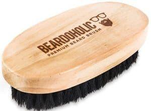 brosse à barbe Beardoholic- 6 meilleures brosses à barbe - pilou pilou