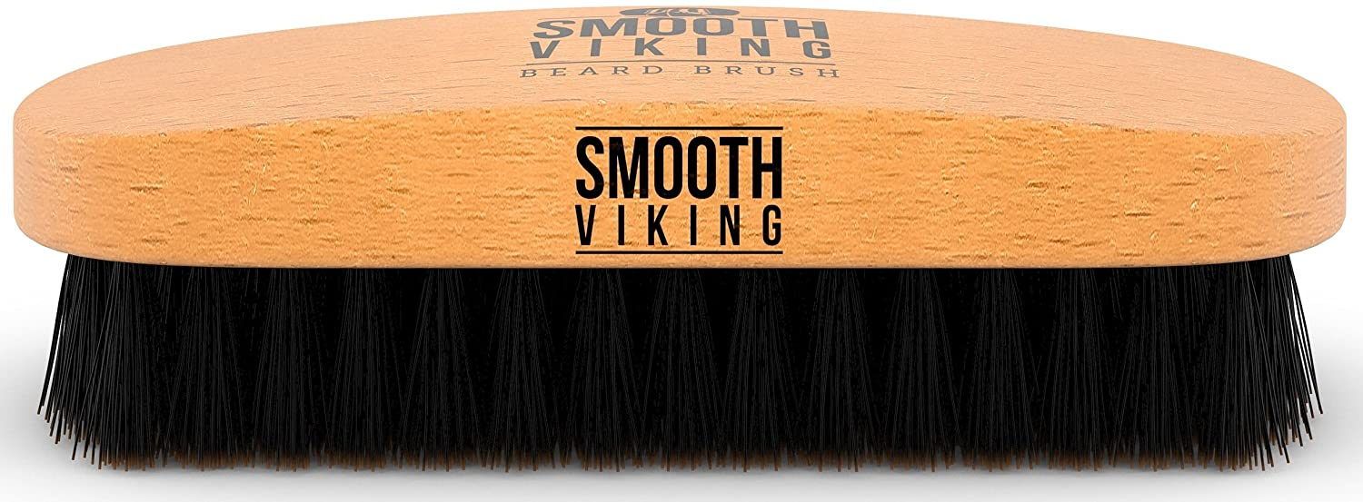 brosse a barbe smooth viking - Beard-6 meilleures brosses à barbe - pilou pilou
